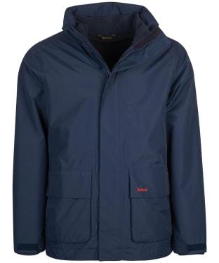 Men's Barbour Hallington Waterproof Jacket - Navy