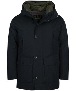 Men's Barbour Arctic Waterproof Parka Jacket - Black