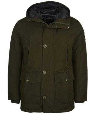 Men's Barbour Arctic Waterproof Parka Jacket - Olive