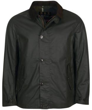 Men's Barbour Commuter Wax Jacket - Sage