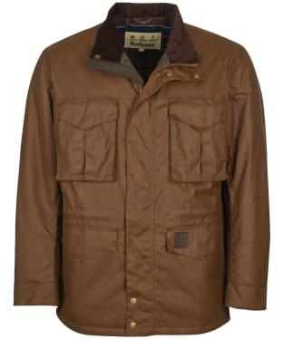 Men's Barbour Watson Wax Jacket - Brown