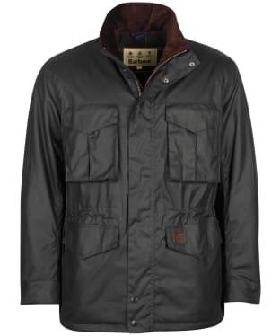 Men's Barbour Watson Wax Jacket - Navy