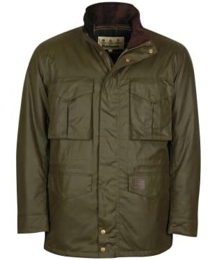 Men's Barbour Watson Wax Jacket - Archive Olive
