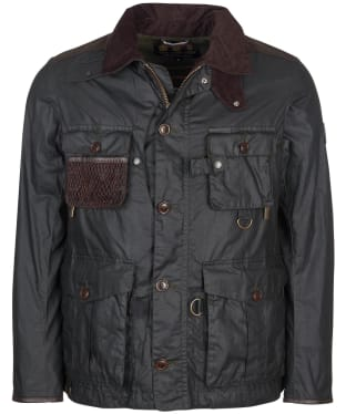 Men's Barbour Gold Standard Supa-Fission Wax Jacket - Sage