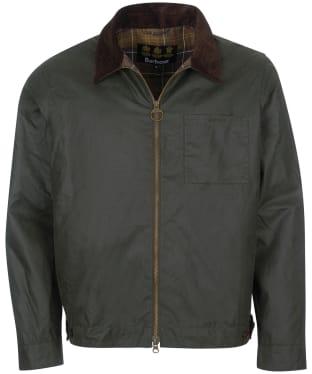 Men's Barbour Imp Waxed Jacket - Sage