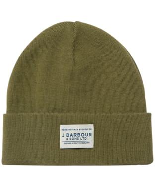 Men's Barbour Nautic Beanie - Rifle Green