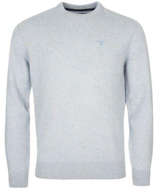 Men's Barbour Tisbury Crew Neck Sweater - Sky Blue