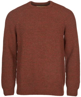 Men's Barbour Horseford Crew Neck Sweater - Cinnamon