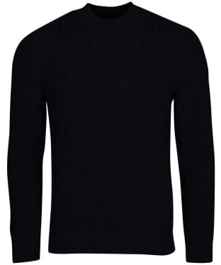 Men's Barbour International Transmission Crew Knit - Black