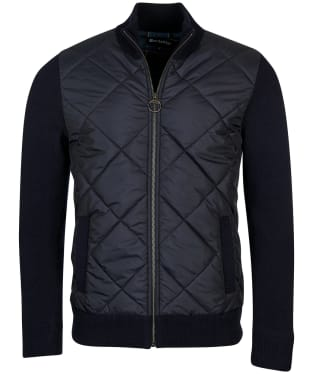 Men's Barbour Arch Diamond Quilted Knit - Navy