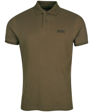 Men's Barbour International Essential Polo - Dusky Khaki