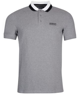 Men's Barbour International Ampere Polo - Anthracite Marl 2