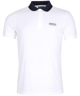Men's Barbour International Ampere Polo - WHITE 2