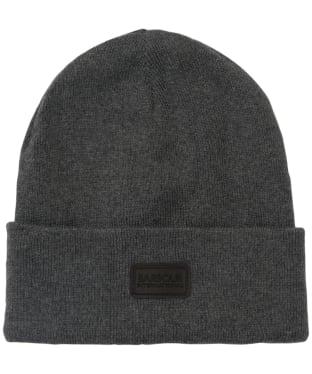 Men's Barbour International Sensor Knit Beanie Hat - Grey Marl