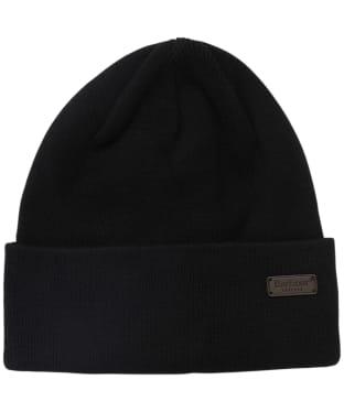 Men's Barbour Swinton Beanie Hat - Black
