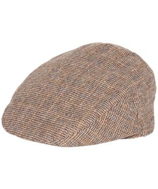 Men's Barbour Wilkin Flat Cap - Beige Check