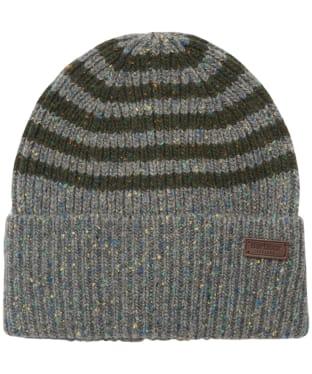 Men's Barbour Radar Stripe Beanie - Grey / Duffel Bag