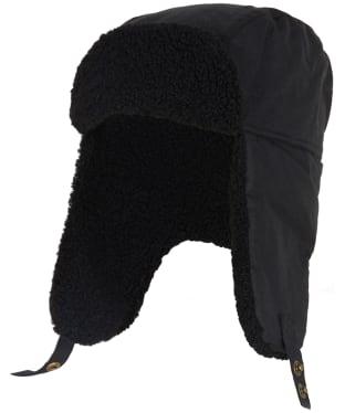 Men's Barbour Morar Wax Trapper Hat - Black