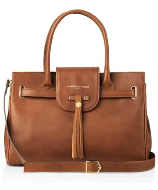 Women's Fairfax & Favor Windsor Handbag - Tan Leather