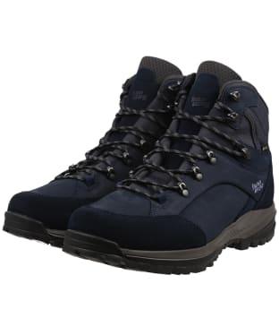 Women's Hanwag Banks SF Extra GTX Boots - Navy / Asphalt