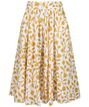 Women's Seasalt Forsythia Skirt - Floral Silhouette Sandstone