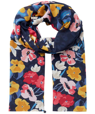 Women's Joules Eco Conway Scarf - French Navy