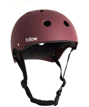 Follow Safety First Helmet - Red
