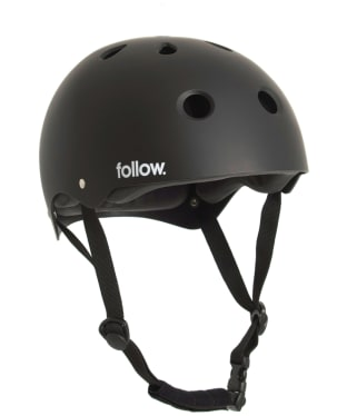 Follow Safety First Helmet - Black
