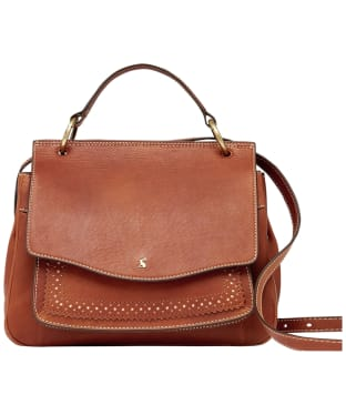 Women's Joules Faybridge Leather Shoulder Bag - Tan