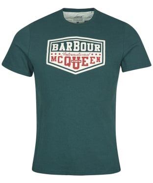 Men's Barbour International Steve McQueen Torx Tee - Deep Green