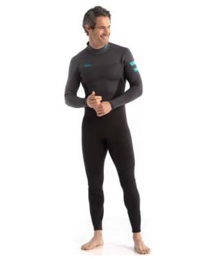 Men's Jobe Perth 3/2mm Neoprene Wetsuit - Graphite Gray