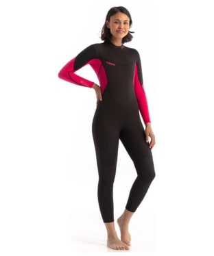 Women's Jobe Sofia 3/2mm Neoprene Wetsuit - Hot Pink