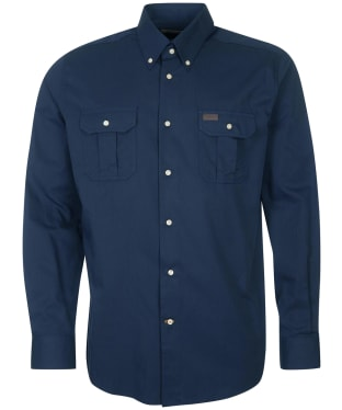 Men's Barbour Jackson Thermo Weave Shirt - Navy