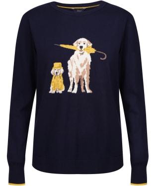 Women's Joules Miranda Jumper - Navy Dog