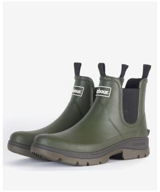 Men's Barbour Nimbus Chelsea Boots - Olive
