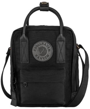Fjallraven Kanken No. 2 Black Sling Bag - Black