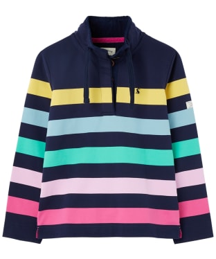 Women's Joules Saunton Sweater - Multi Stripe