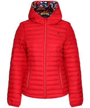 Women's Joules Snug Packable Jacket - Red