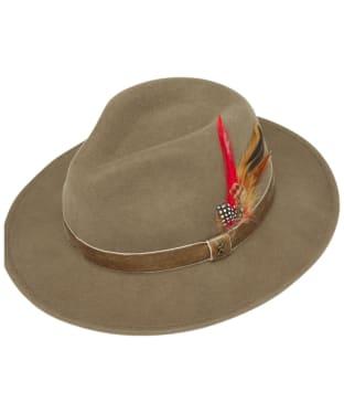 Women's Joules Fedora Hat - Khaki