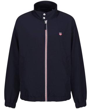 Men's GANT Nylon Harrington Jacket - Evening Blue