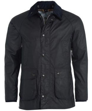 Men's Barbour SL Bedale Waxed Jacket - Navy