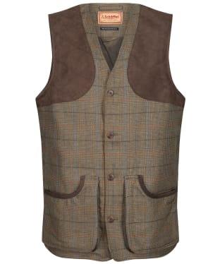 Men's Schoffel Ptarmigan Tweed Waistcoat II - Arran Tweed