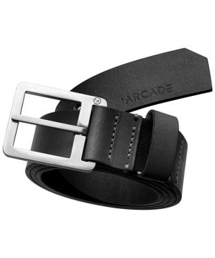 Arcade Padre Leather Belt - Black