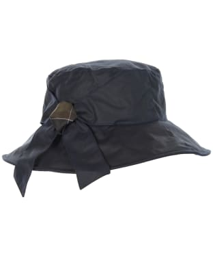 Women's Barbour Brambling Wax Hat - Navy