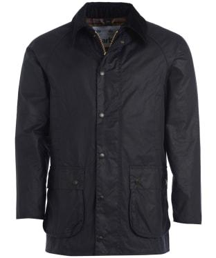 Men's Barbour SL Beaufort Wax Jacket - Navy
