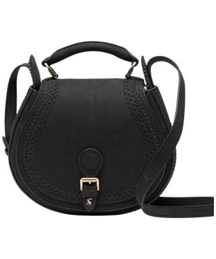 Women's Joules Dawcett Saddle Cross Body Bag - True Black