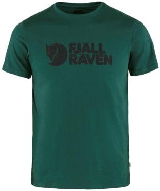 Men's Fjallraven Logo T-Shirt - Arctic Green