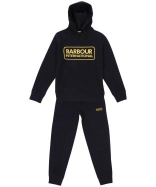 Boy's Barbour International Essential Tracksuit – 10-15yrs - Black