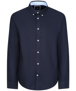 Men's Crew Clothing Slim Oxford Shirt - Navy