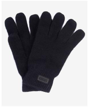 Men's Barbour International Sensor Knitted Gloves - Black